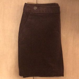 Banana Republic size 6 purple corduroy mini skirt